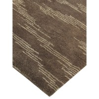 Pasargad Moroccan Hand-Knotted Brown Area Rug | Wayfair.ca