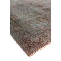 Pasargad Hand-Knotted Blue Area Rug | Wayfair.ca