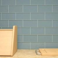 "Giorbello 3"" x 6"" Glass Subway Tile in Slate & Reviews ..."