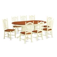 9 Piece Kitchen Table Set Cook Stoves East West Plainville Dining Wayfair