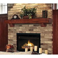 Pearl Mantels Shenandoah Fireplace Mantel Shelf & Reviews ...
