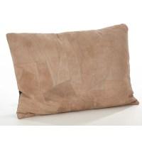 Saro Corium Leather Lumbar Pillow   Wayfair.ca
