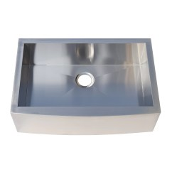Stainless Steel Kitchen Sink Reviews Ninja Mega System Bl771 Kokols 31 Quot X 20 Farmhouse Apron Front