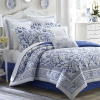 Laura Ashley Bedding Charlotte Comforter Collection ...