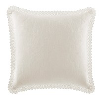 Laura Ashley Home Crochet Cotton Throw Pillow