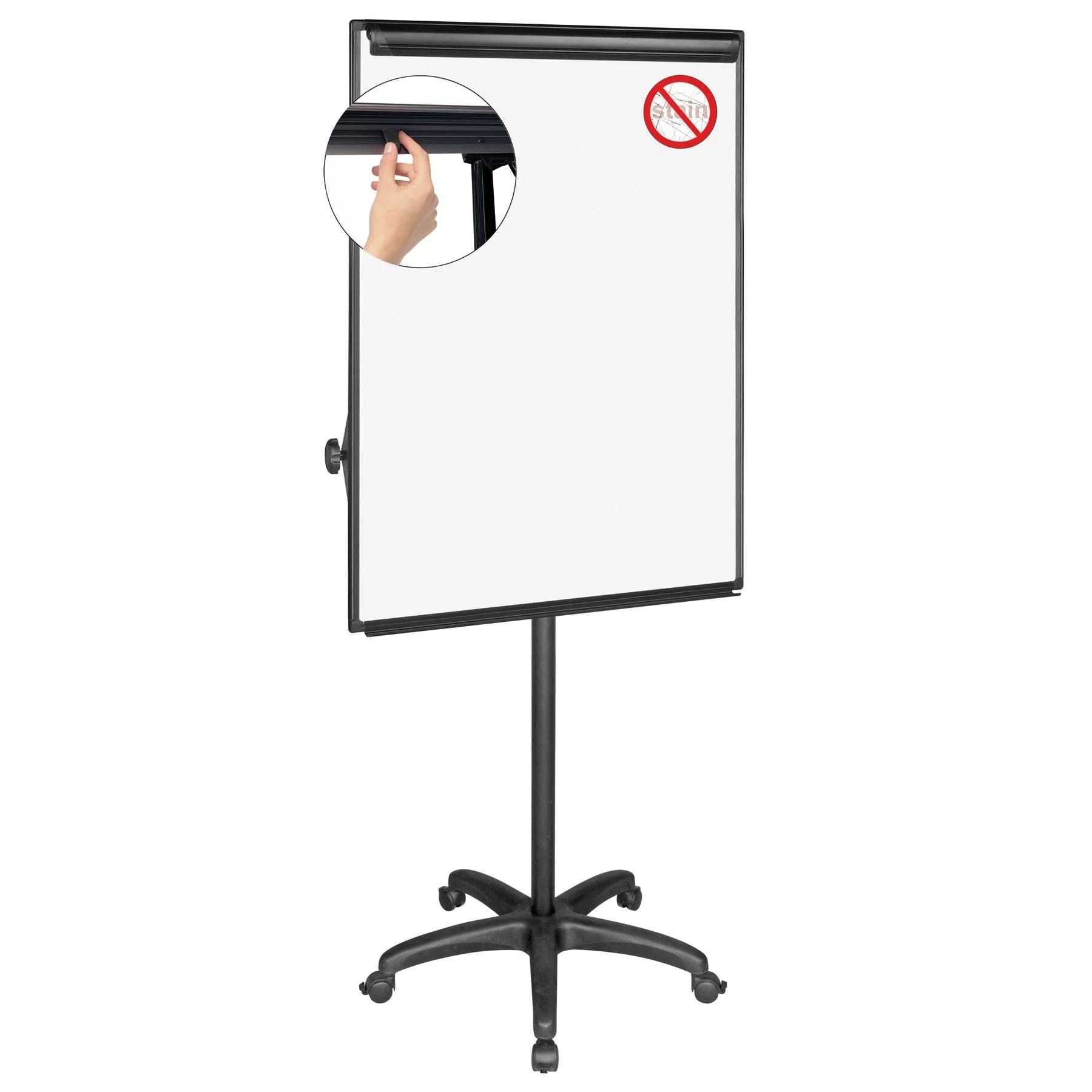 Mastervision Dry Erase Mobile Presentation Easel 6' H x 3