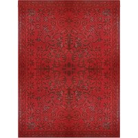 Rug Studio Epoch Vintage Wool Red Area Rug | Wayfair.ca
