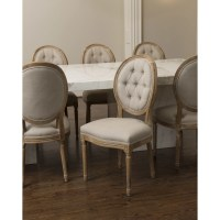The Bella Collection King Louis Side Chair & Reviews   Wayfair