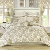 Chic Home Hailee 24 Piece Comforter Set & Reviews | Wayfair