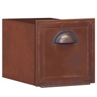 Salsbury Industries Wall Mounted Mailbox with Outgoing ...