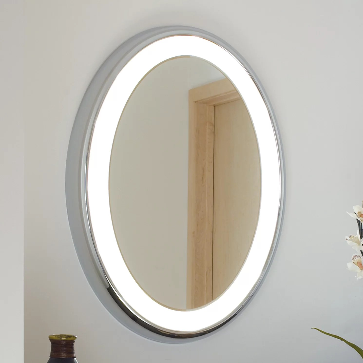 Tech Lighting Tigris Oval Bath Mirror
