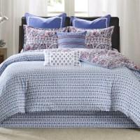 echo design Woodstock Reversible Comforter Set & Reviews ...