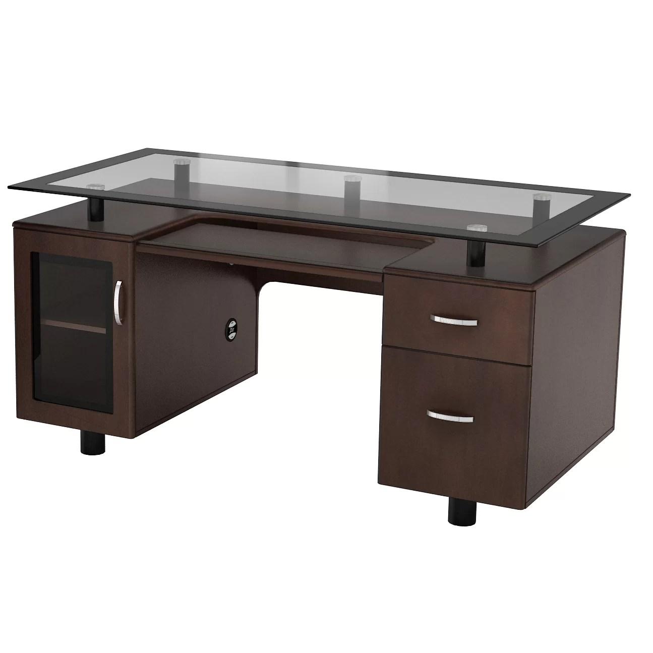 ZLine Designs Arria Executive Desk  Reviews  Wayfair
