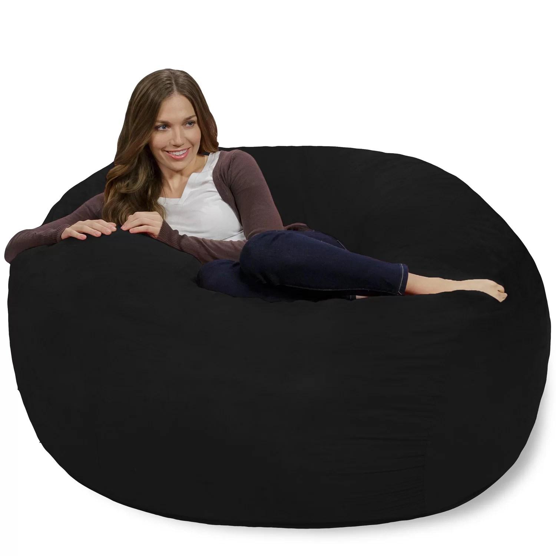 costco bean bag chair garden covers at argos theater sacks and reviews wayfair