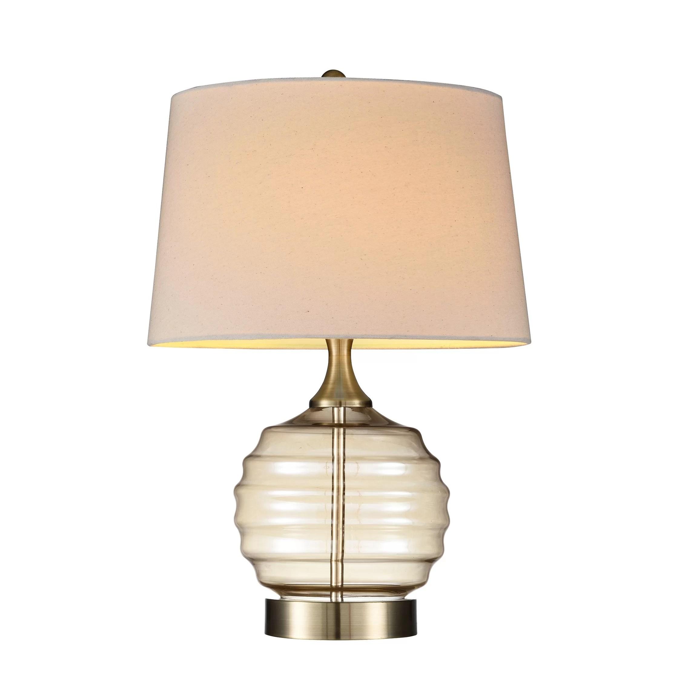 OK Lighting Tuscan 23'' Table Lamp