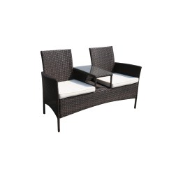 Tete A Chair Outdoor Bobs Furniture Cream Puff Suntime Living Forres Wicker Bench