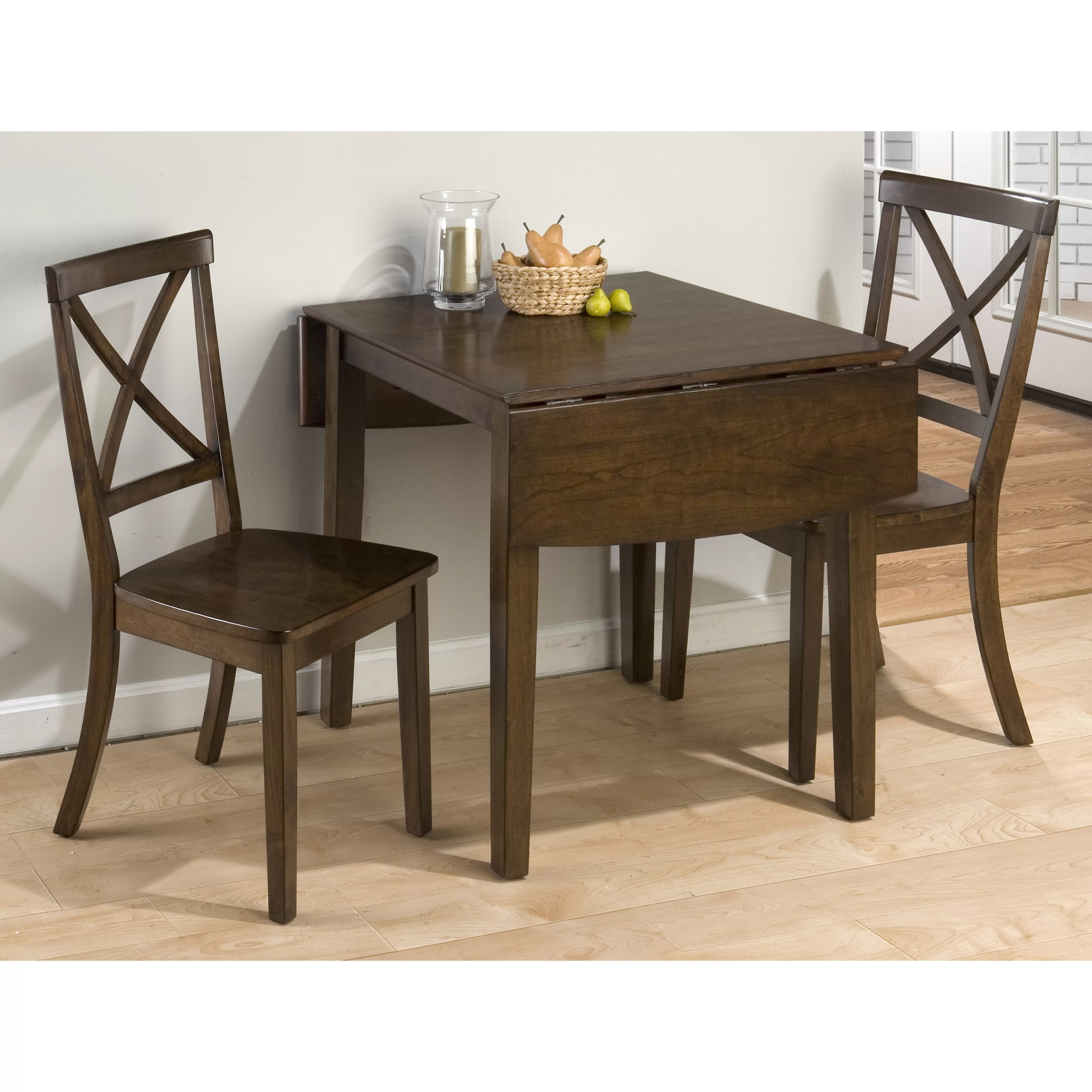Small Drop Leaf Table With 2 Chairs Jofran Taylor Dining Table And Reviews Wayfair