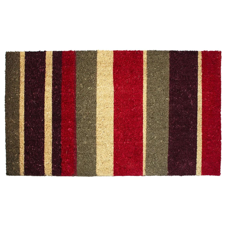 JampM Home Fashions Stripe Doormat Amp Reviews Wayfair