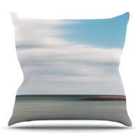 KESS InHouse June Beach Throw Pillow | Wayfair
