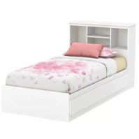 South Shore Callesto Twin Mate's Bed with Storage ...