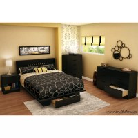 South Shore Full/Queen Storage Platform Bed & Reviews ...