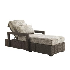 Blue Lounge Chair Cushions Wheel Rate Tommy Bahama Outdoor Olive Chaise With Cushion