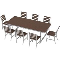 9 Piece Kitchen Table Set Hood Sale Elan Furniture Kinzie Dining And Reviews Wayfair