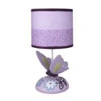 "Lambs & Ivy Butterfly Lane 11"" Table Lamp & Reviews   Wayfair"