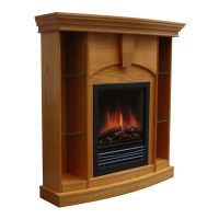 Stonegate Wessex Corner Curio Electric Fireplace & Reviews ...