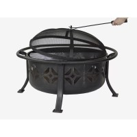 Pleasant Hearth Sunderland Deep Bowl Fire Pit & Reviews ...