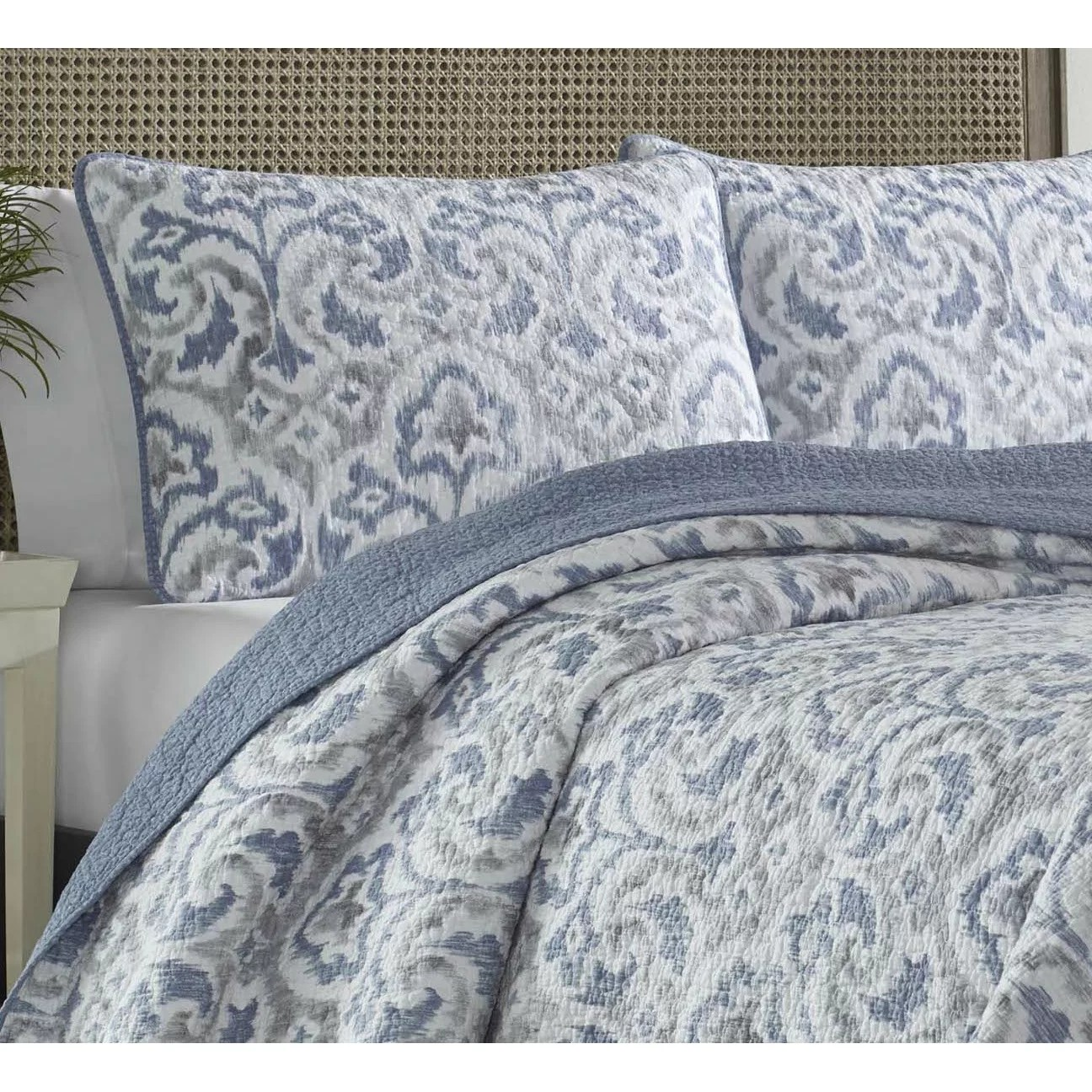 tommy bahama living room budget bedding cape verde reversible quilt set ...
