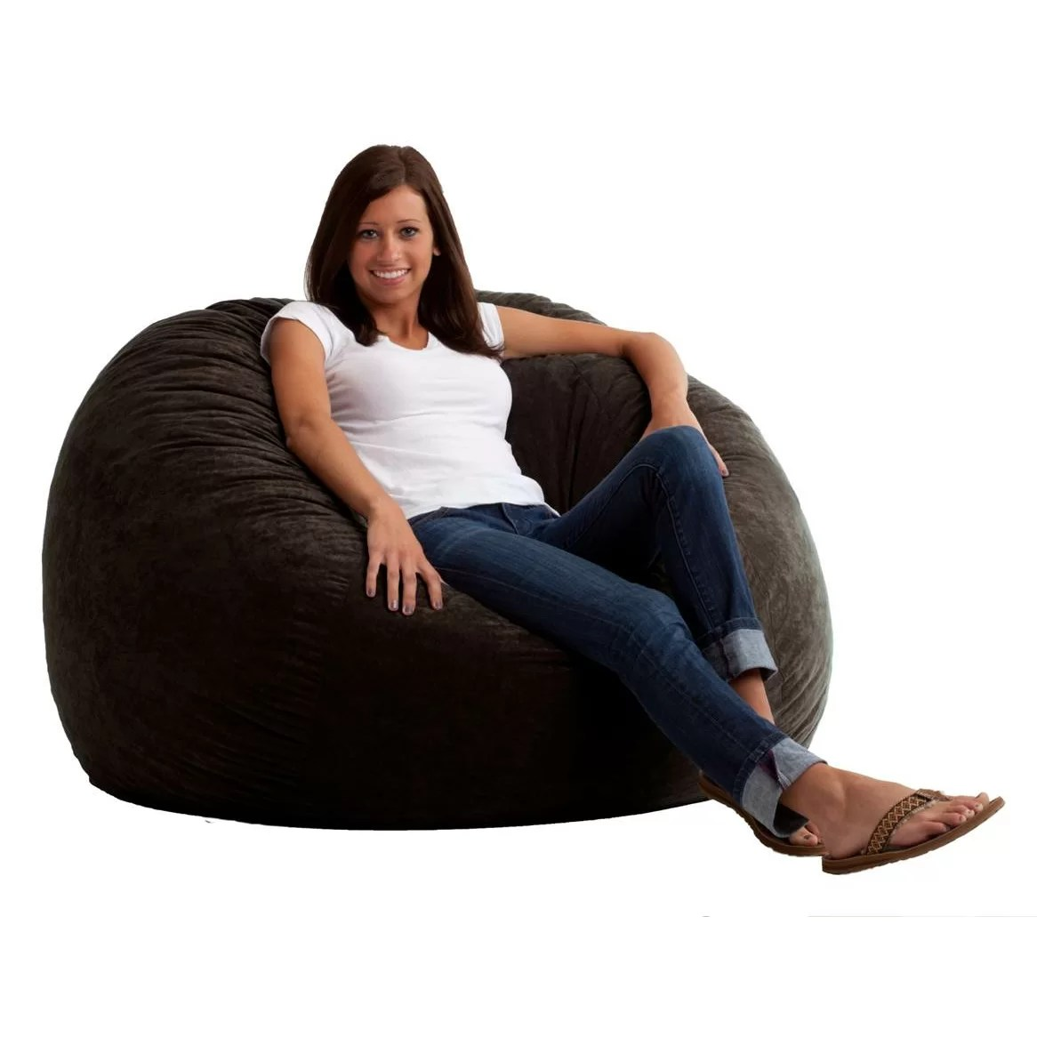 Where Can I Buy A Bean Bag Chair Comfort Research Fuf Bean Bag Chair And Reviews Wayfair