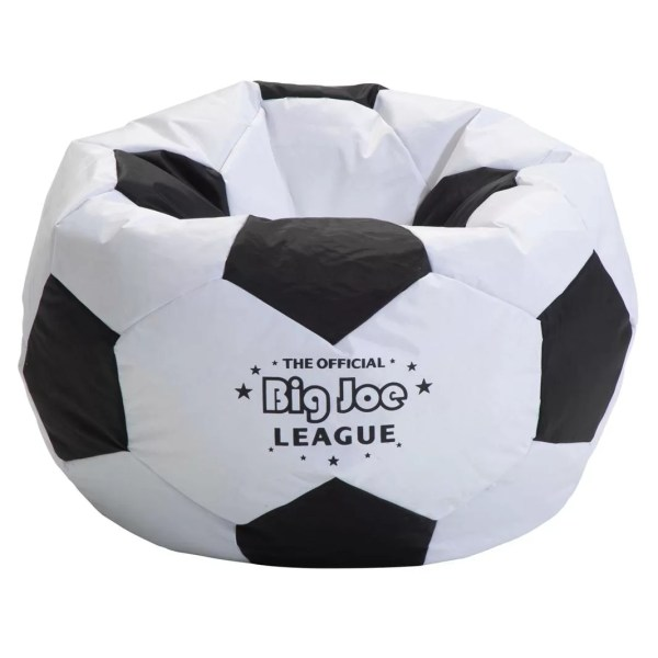 Comfort Big Joe Soccer Bean Bag Chair &