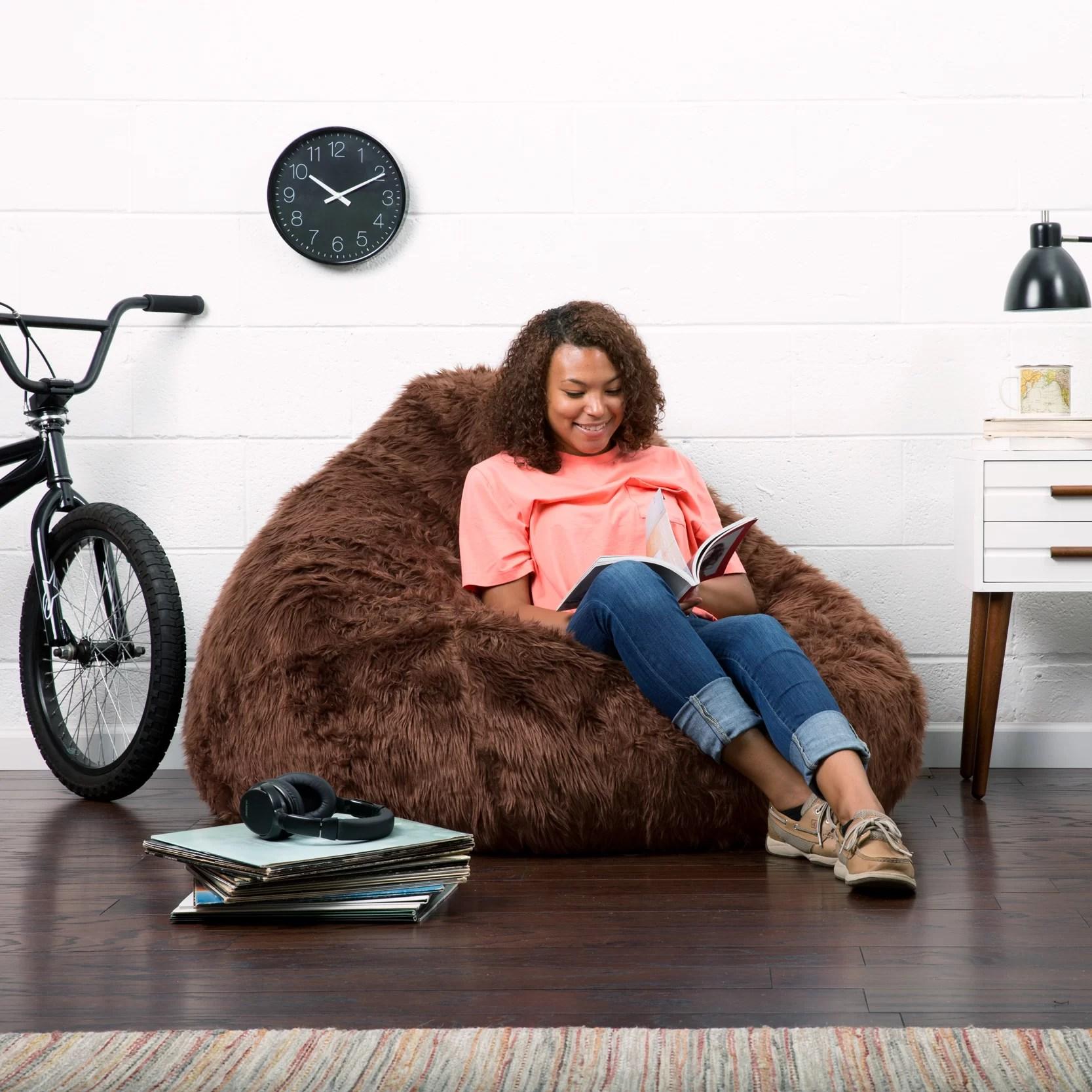 big joe bean bag chair reviews rocking kits comfort research and wayfair