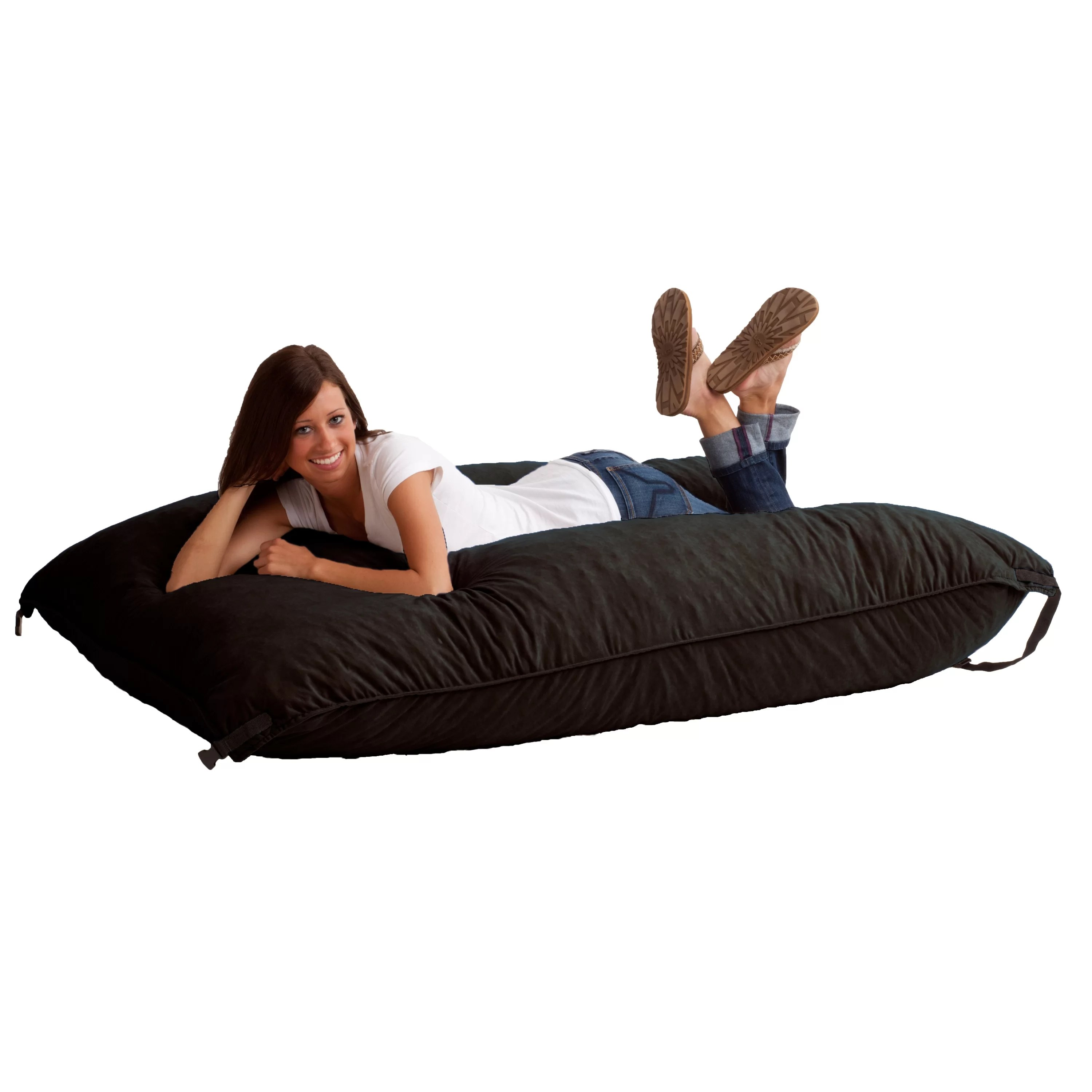 Fuf Chair Comfort Research Fuf Bean Bag Lounger And Reviews Wayfair