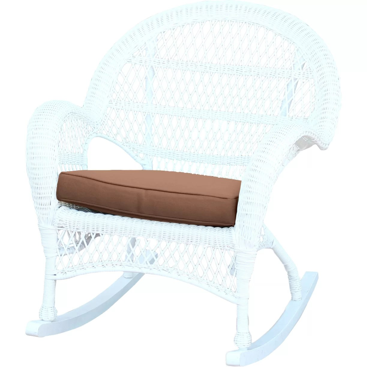 wayfair rocking chair cushions the factory jeco inc wicker rocker with