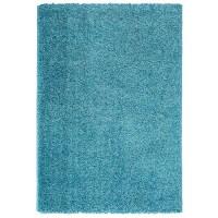 Ottomanson Turquoise Blue Shaggy Area Rug & Reviews | Wayfair