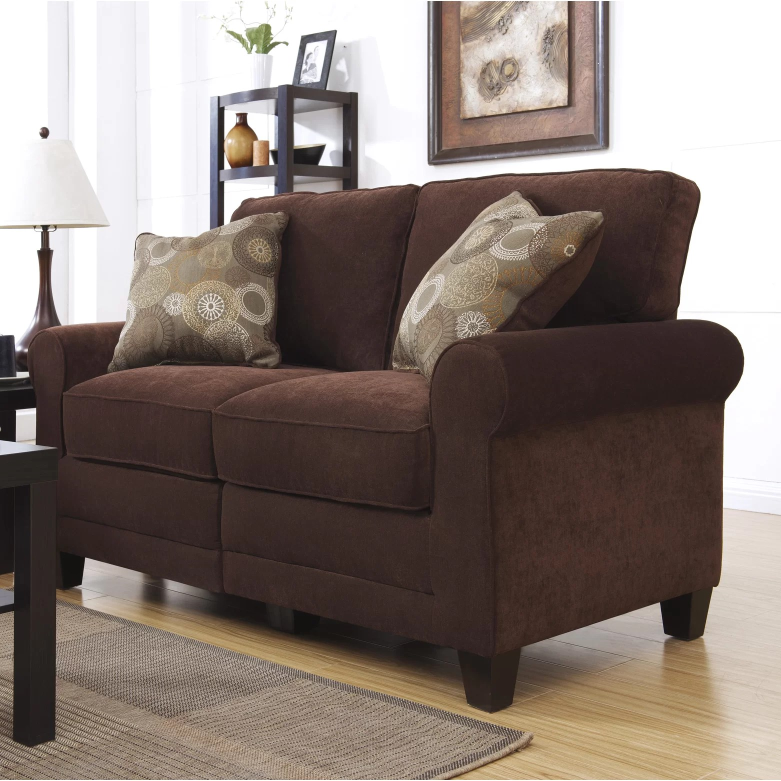 Serta at Home Copenhagen Loveseat  Reviews  Wayfair