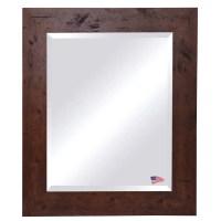 Rayne Mirrors Rustic Wall Mirror & Reviews