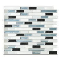 "Smart Tiles Mosaik Muretto Brina 10.20"" x 9.10"" Peel ..."