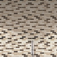 "Smart Tiles Mosaik Murano Dune 10.20"" x 9.10"" Peel & Stick ..."