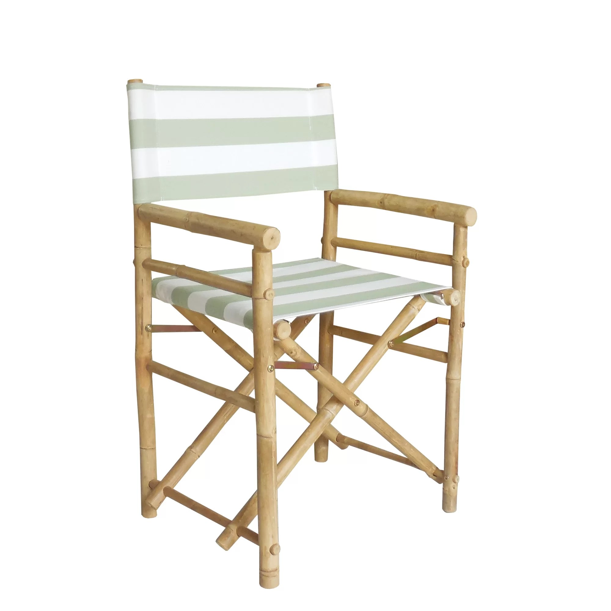 bamboo directors chairs desk and chair set argos zew hand crafted outdoor indoor director