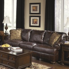Ashley Leather Sofa Review Wide Seat Corner Signature Design By Heath And Reviews