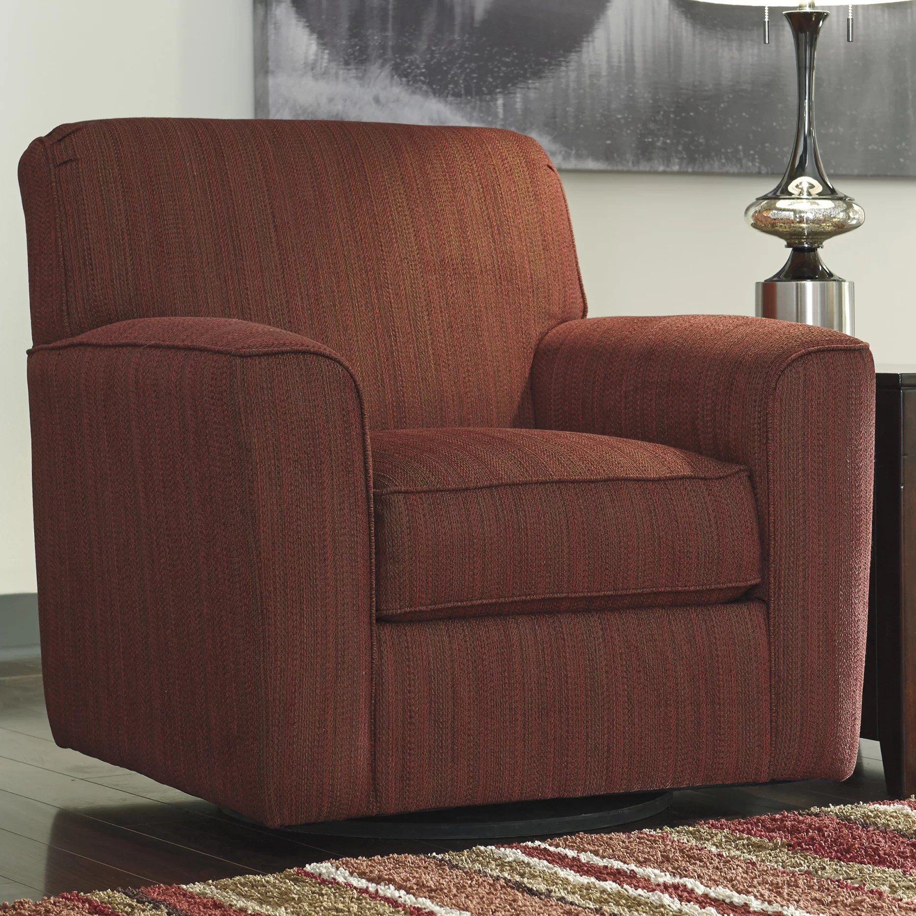 Signature Design by Ashley Swivel Arm Chair  Reviews