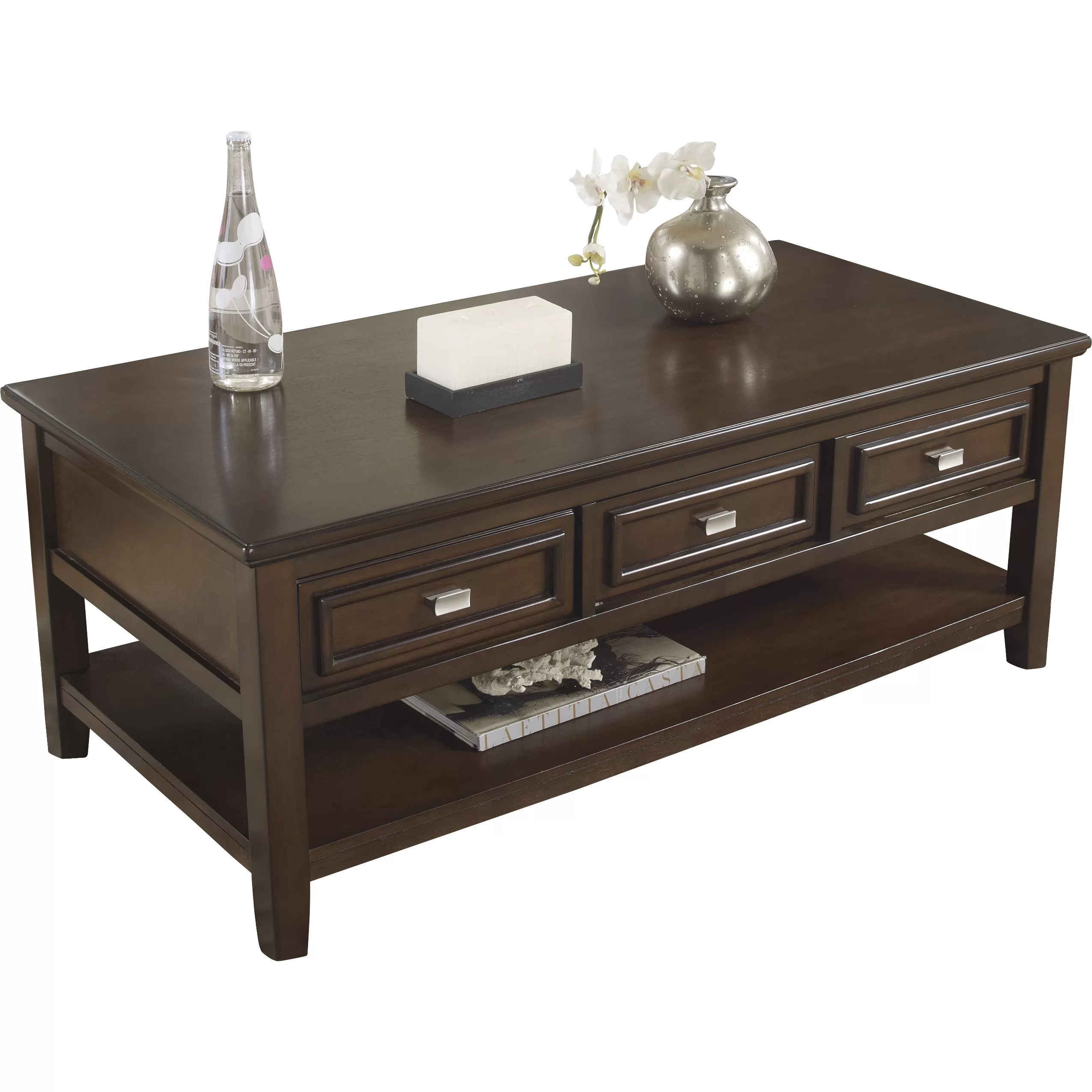 target sofa table espresso cleaning machine online signature design by ashley larimer coffee and reviews