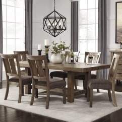 Kitchen And Dining Room Tables Ceiling Fan Signature Design By Ashley 7 Piece Set Reviews
