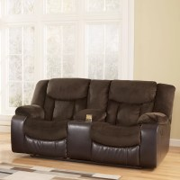 Signature Design by Ashley Bay Double Reclining Loveseat ...