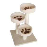 "IRIS 28"" Carpeted Cat Tree & Reviews 