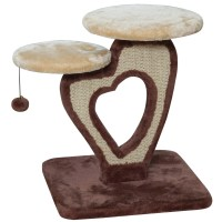 "IRIS 21"" Carpeted Cat Tree & Reviews 