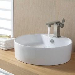 Round Kitchen Sink Island Prices Kraus Ceramic And Reviews Wayfair